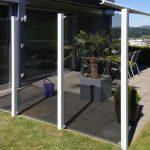 Sichtschutz-System Glass Clips