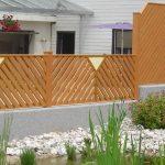 Zaun Latten-Füllung Diagonal